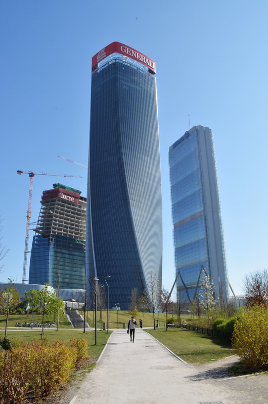 The Tre Torri district in Milan and the offices in the skyscrapers   Virtual Offices in Italy