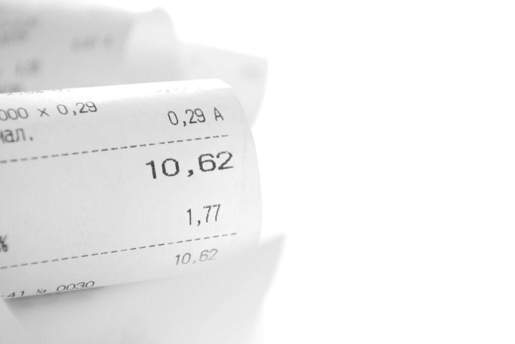 SALES TAX IN ITALY   Shop's Bill