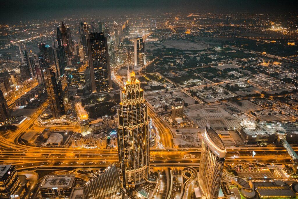 Panorama skyline di Dubai |Aprire azienda a Dubai